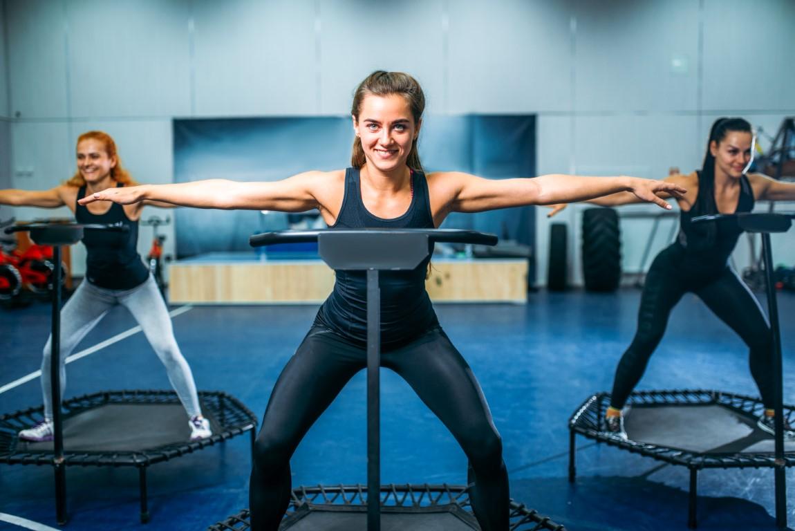 fitness trambulina